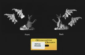 Alternative Armies 15mm Fantasy HOT23 Seated Dragon (x 1 model)
